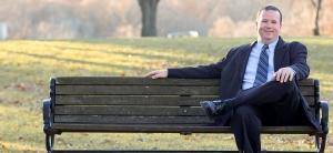 Dan at a park
